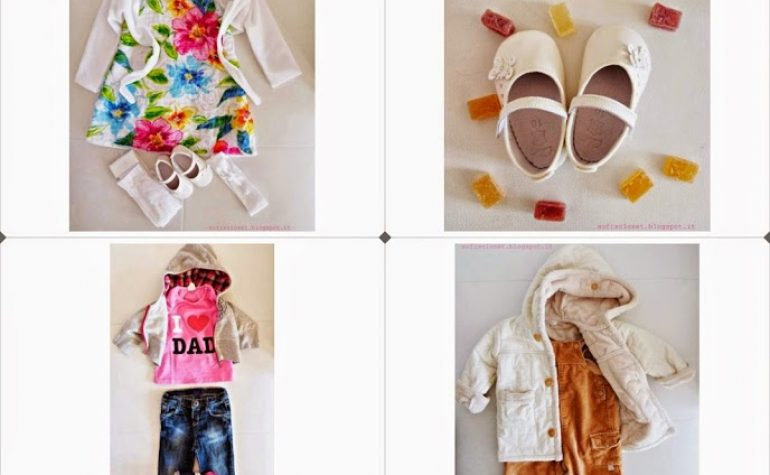 i miei baby outfit di marzo