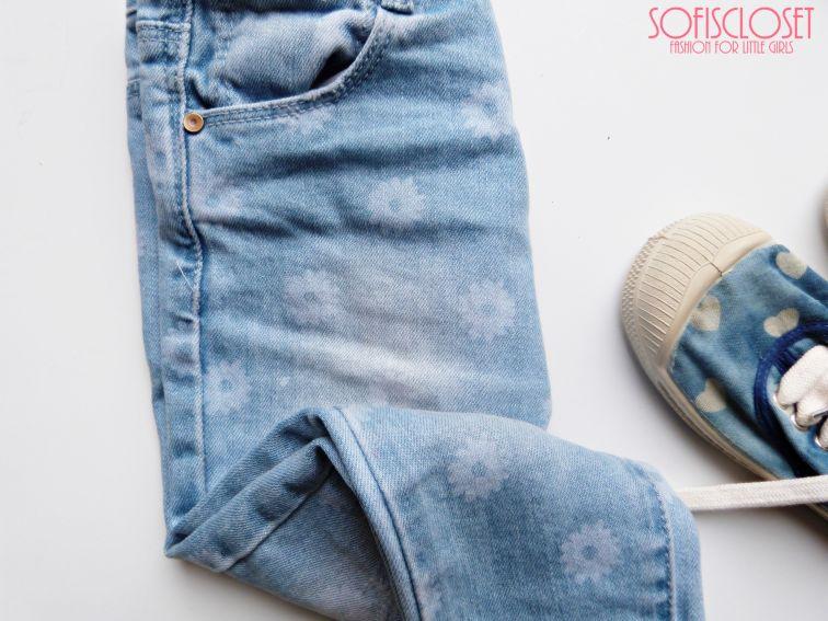 jeans bambina zara