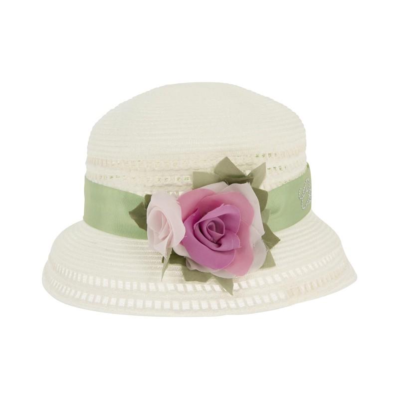 a piedi a meglio ultima selezione cappellino bambina Monnalisa - SofisclosetSofiscloset