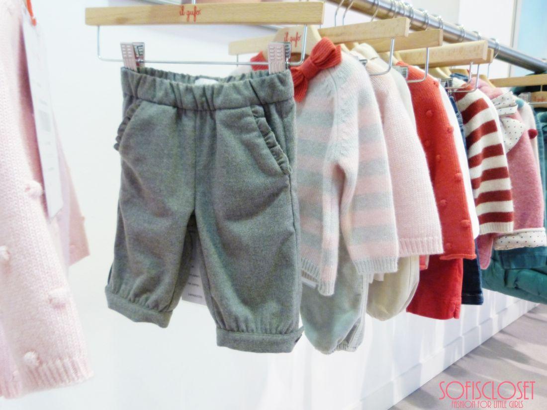 pantaloni bambina il gufo