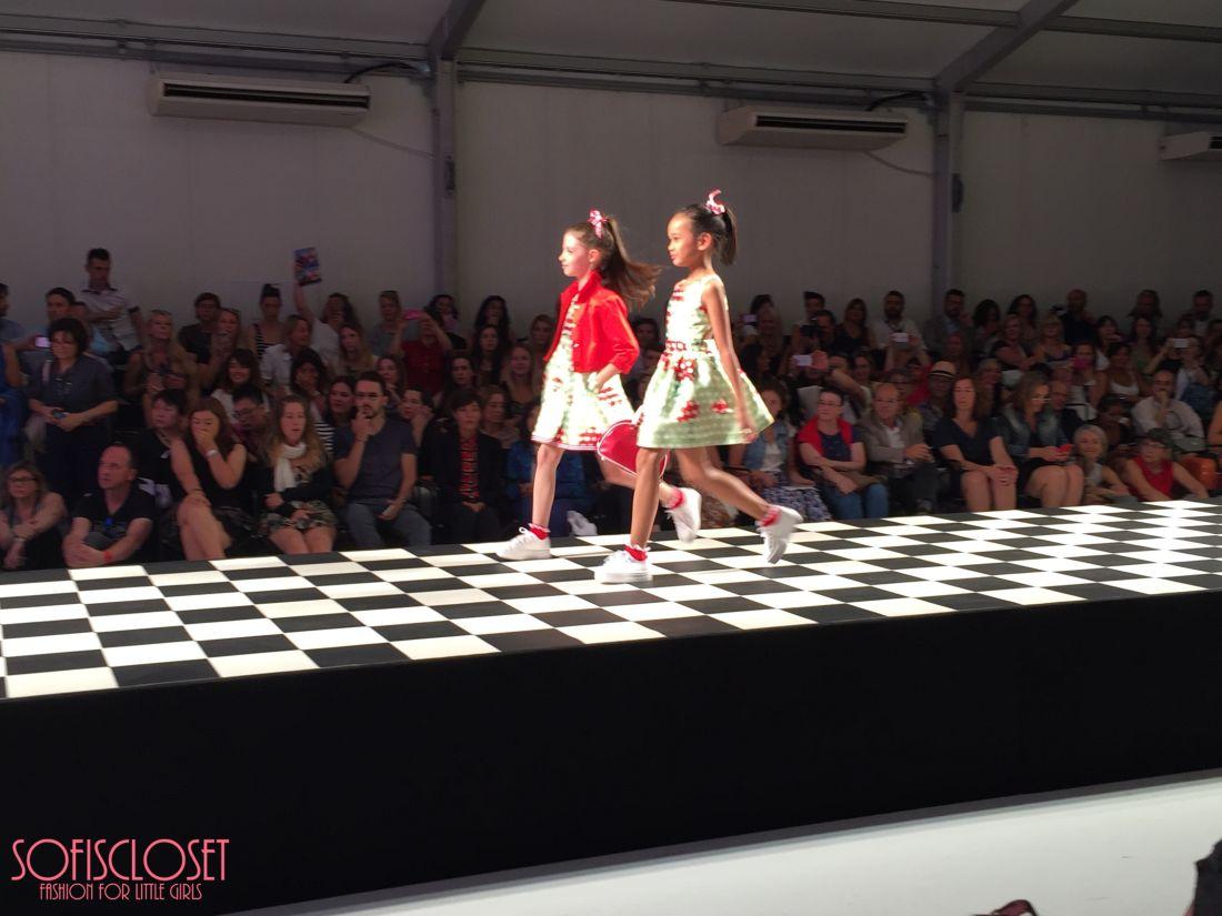 pitti bimbo 81 sfilata children's fashion from spain