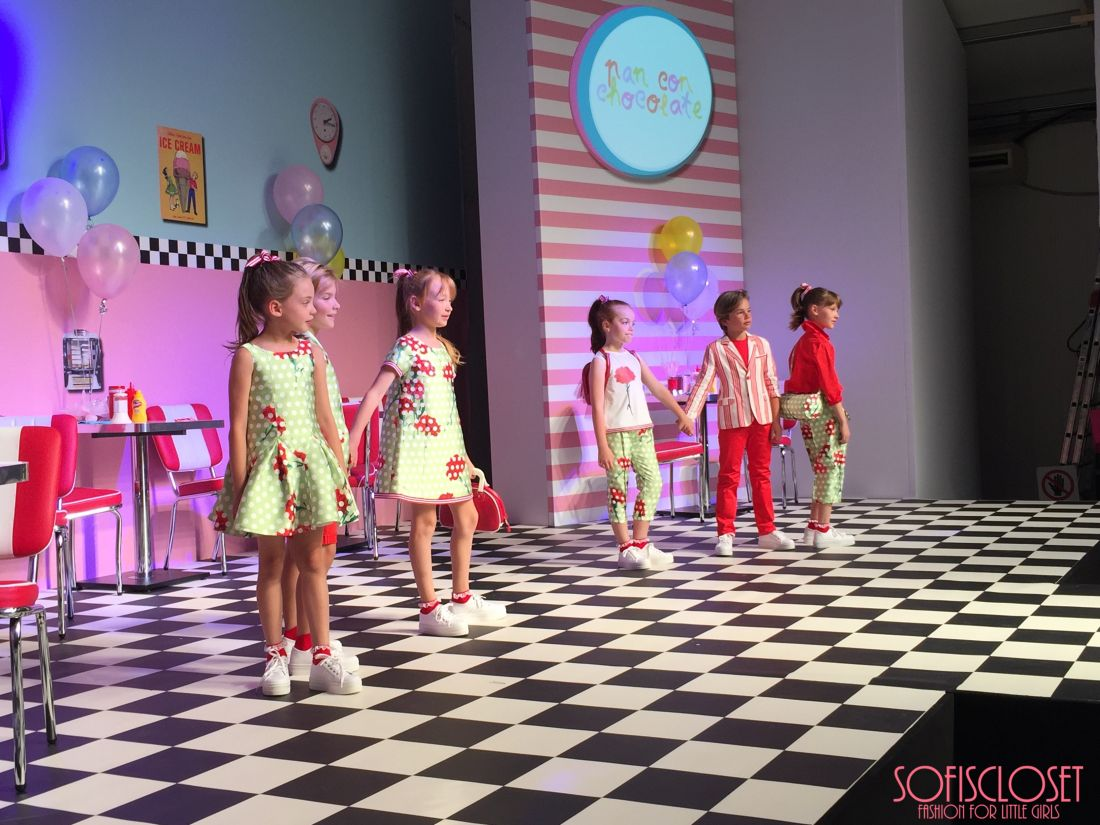 pitti bimbo 81 sfilata children's fashion from spain
