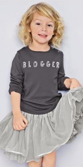 maglietta bimba blogger Next