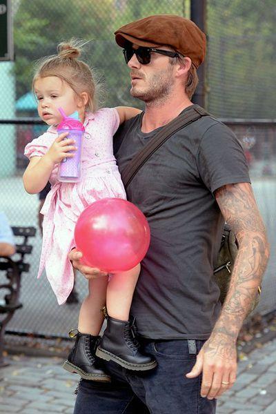 Harper Beckham scarponcino bimba Dr Martens
