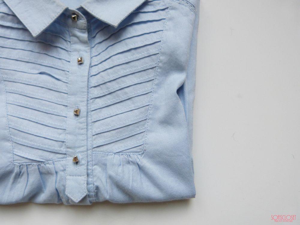 camicia Mayoral bambina