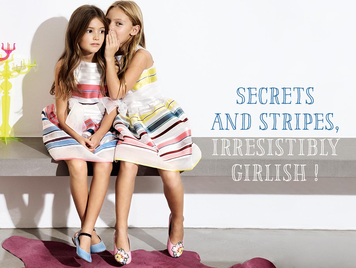 Populaire Bambine alla moda. Quest'estate tutte in righe!Sofiscloset QW76