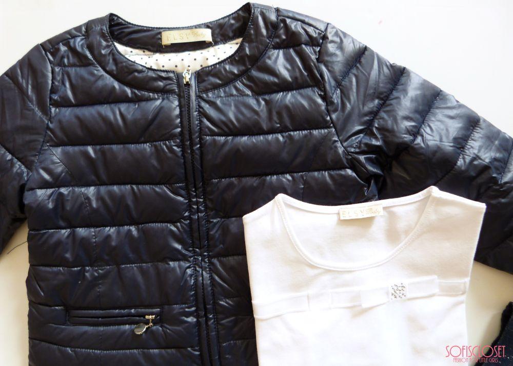 8cddcb0060 piumino leggero bimba sneakers bambina primavera tshirt bimba look bambina  primaverile. MINIOUTFIT