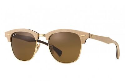 occhiali sole in legno