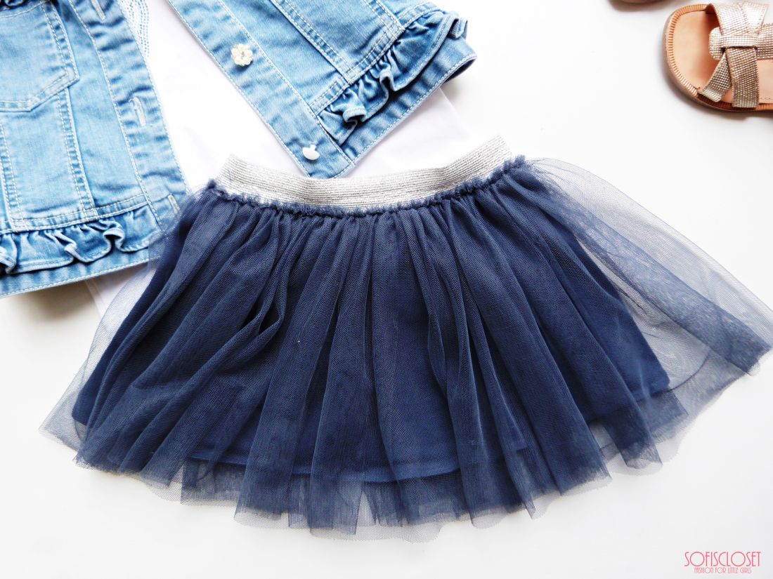 gonna in tulle bimba