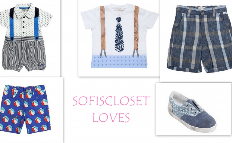 SOFISCLOSET LOVES…PER IL MASCHIETTO