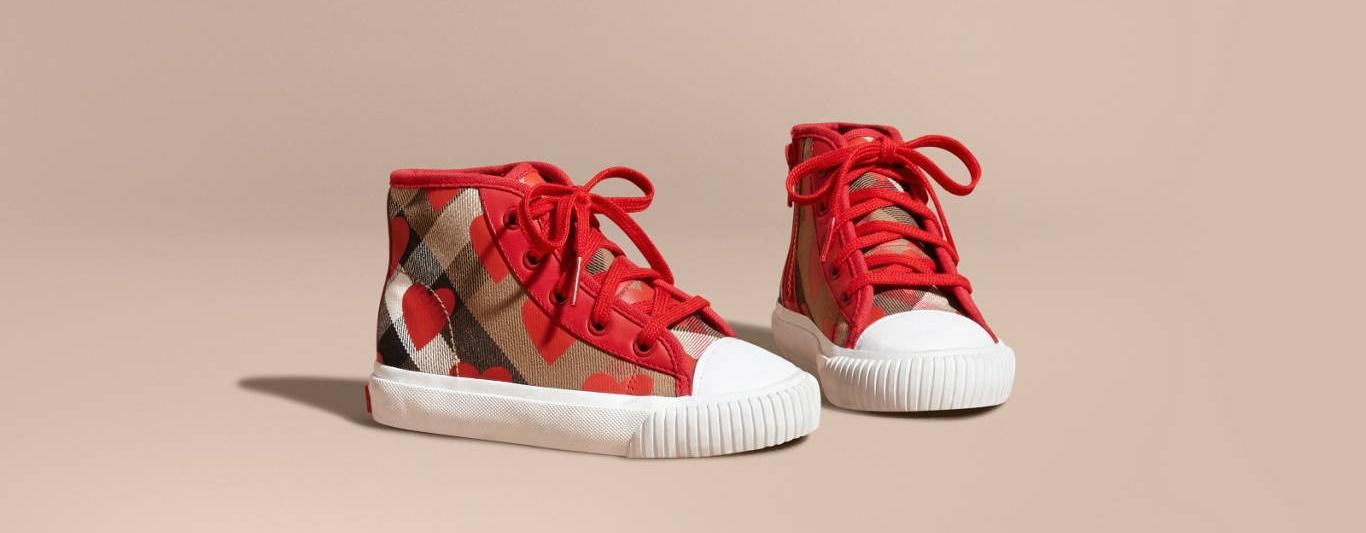 sneakers bimba Burberry
