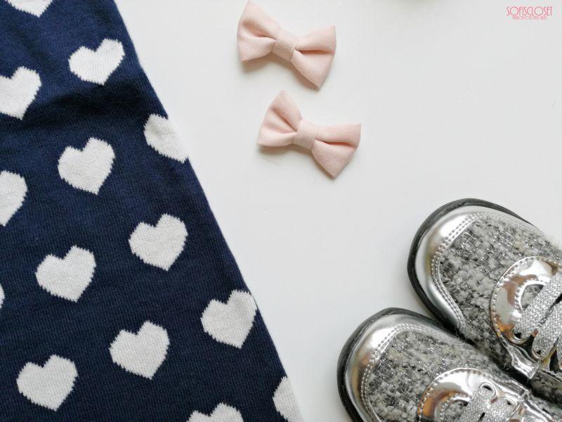 vestito bimba con cuori