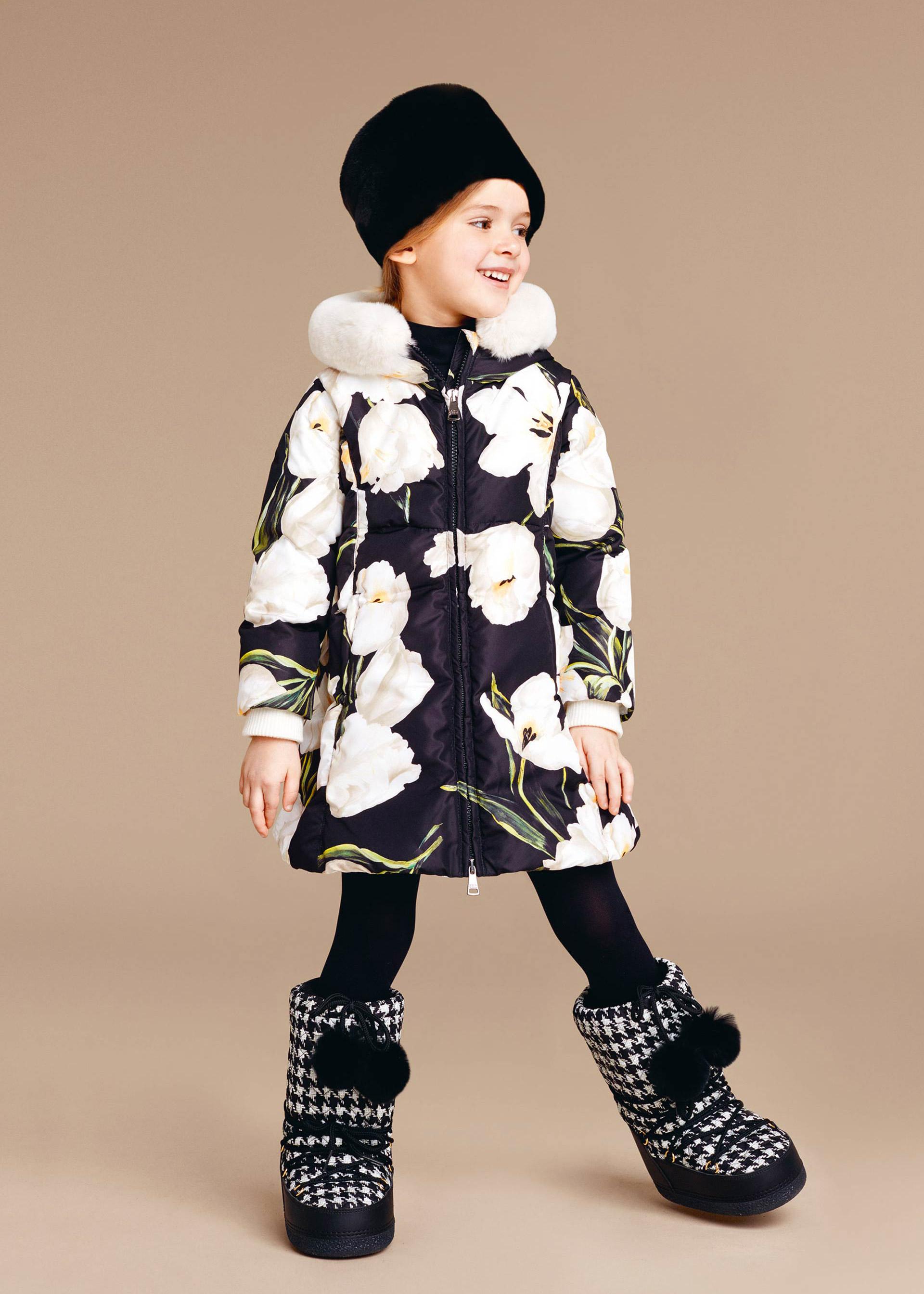 piumino bambina Dolce&Gabbana