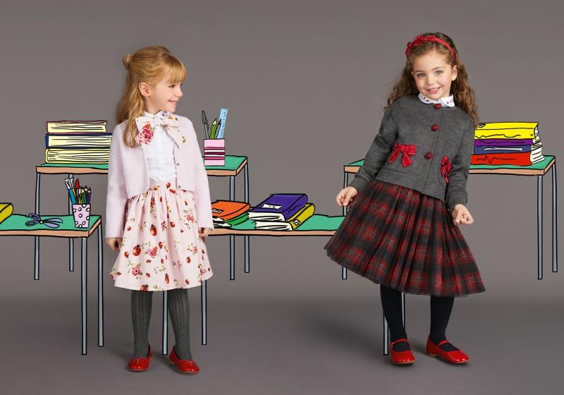 back to school moda bimbi