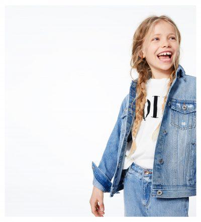 giubbotto jeans bambina Zara