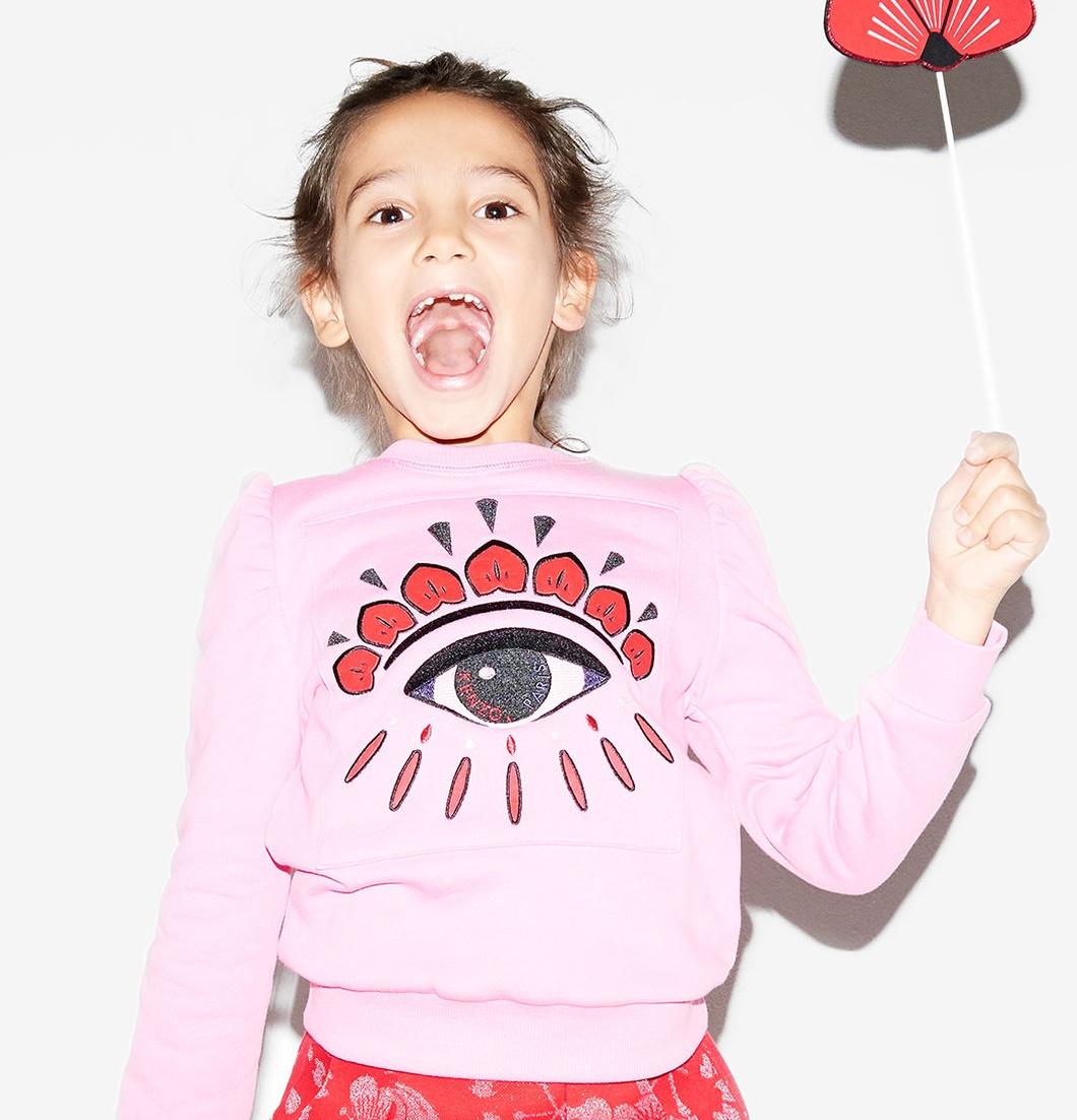moda bambini tendenza logo