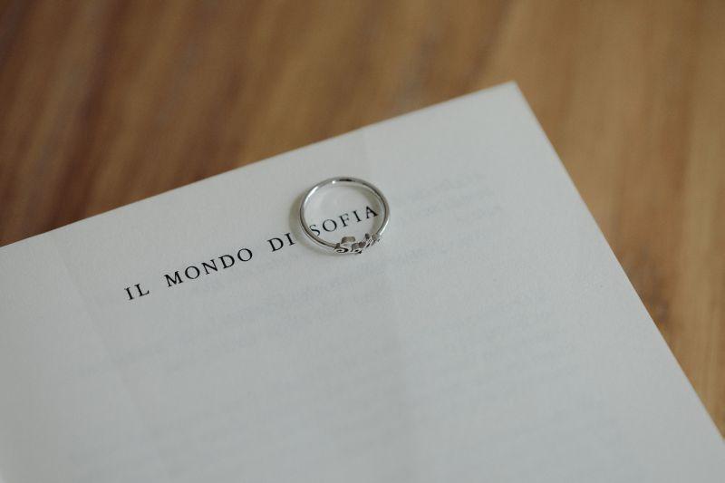 anello nome personalizzato